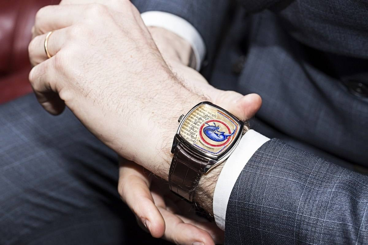 Vacheron Constantin Savoirs Enluminés Collection Caper Watch 2015 wrist