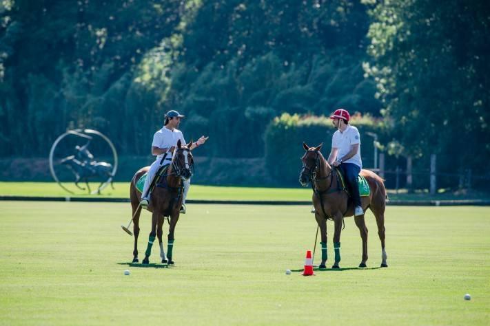 Arthur Touchot Polo with Pablo Mac Donough