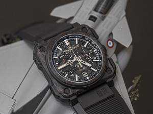 Bell & Ross BR-X1 Carbon Forge Watch Baselworld 2015 Feature