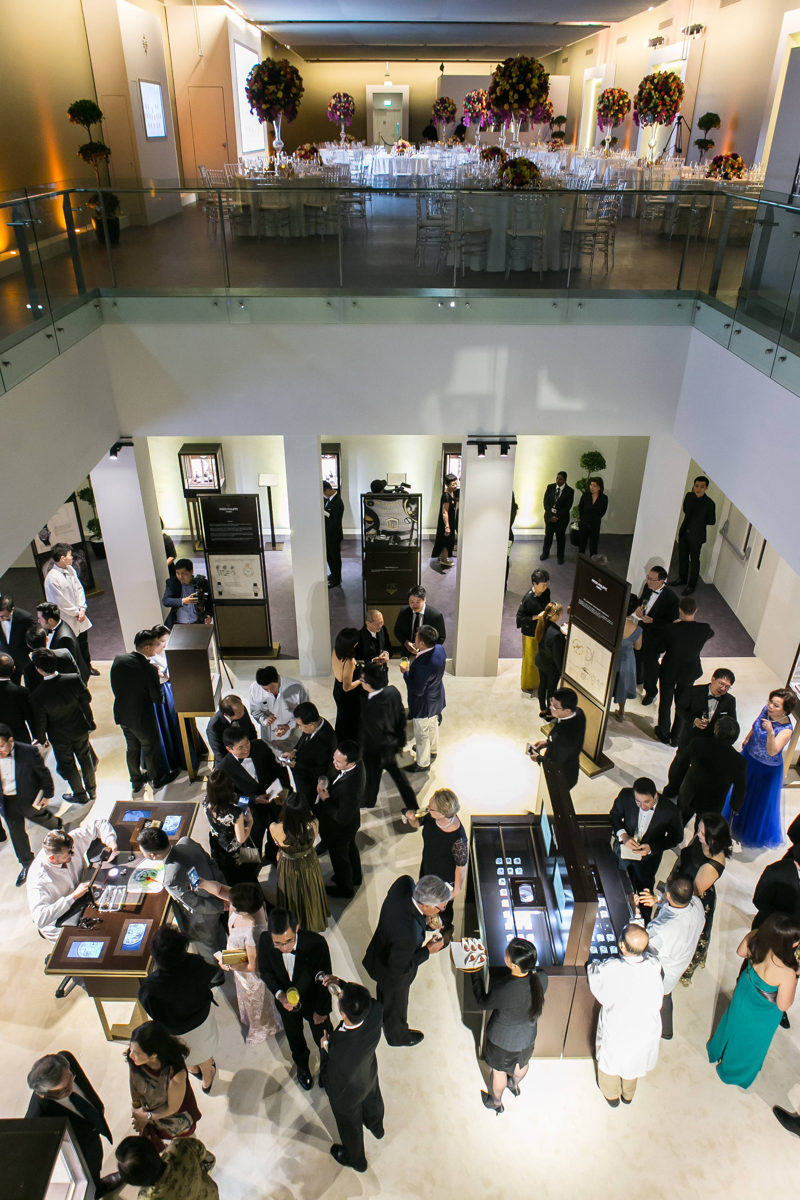 Patek Philippe Exhibition and Dinner area