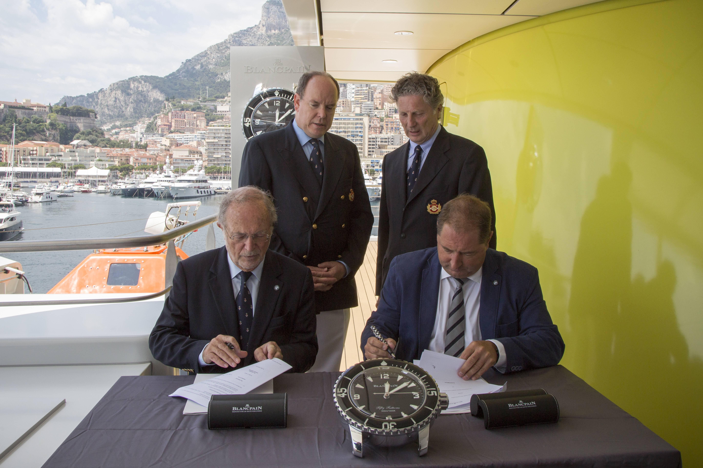 Fondation Prince Albert II de Monaco et Blancpain2