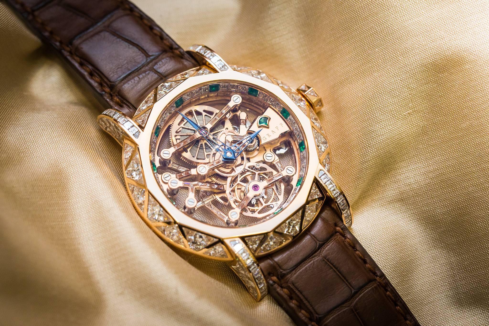 Graff Diamond MasterGraff Structural Tourbillon Skeleton Watches 2015