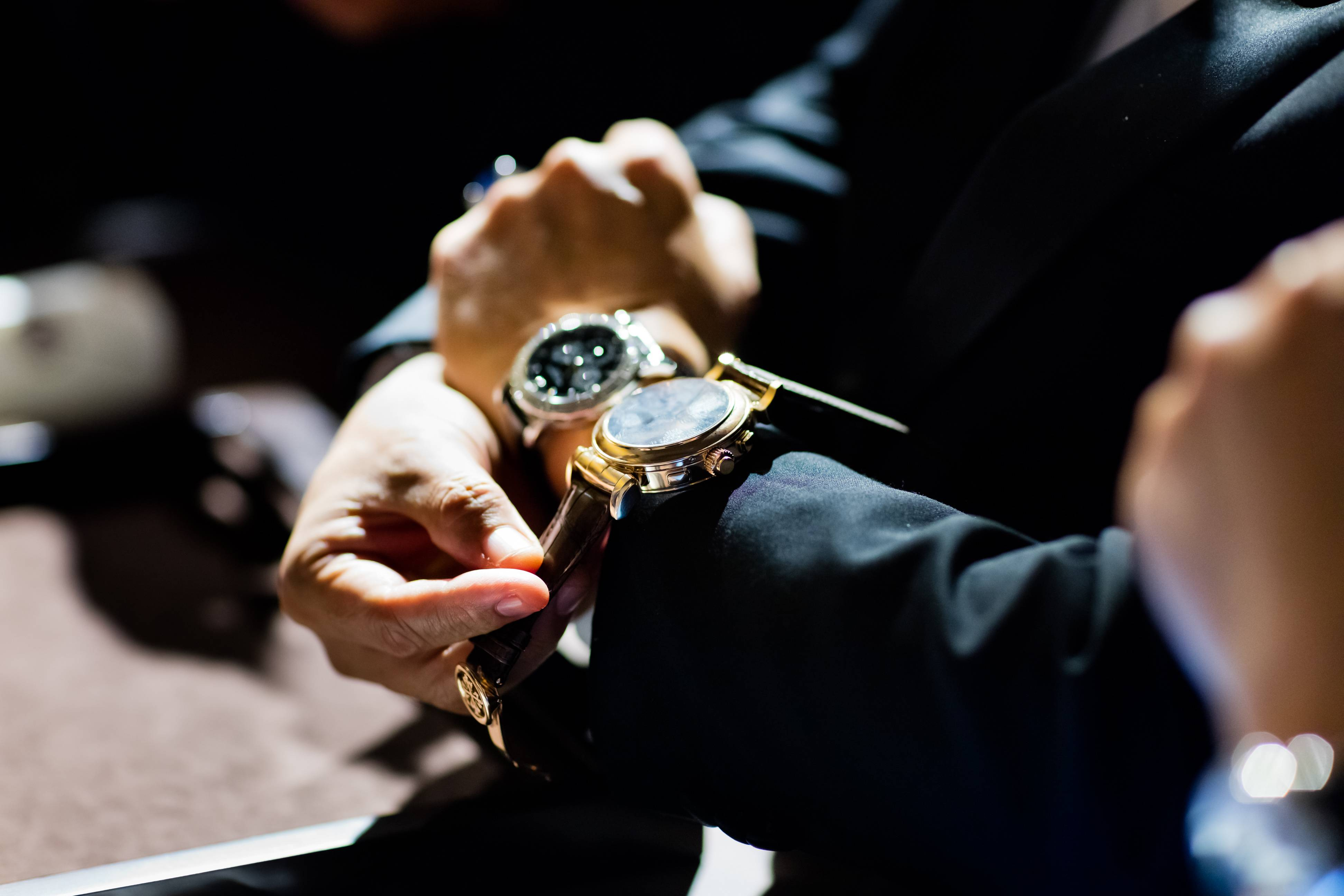 On the wrist, the Patek Philippe Grandmaster Chime