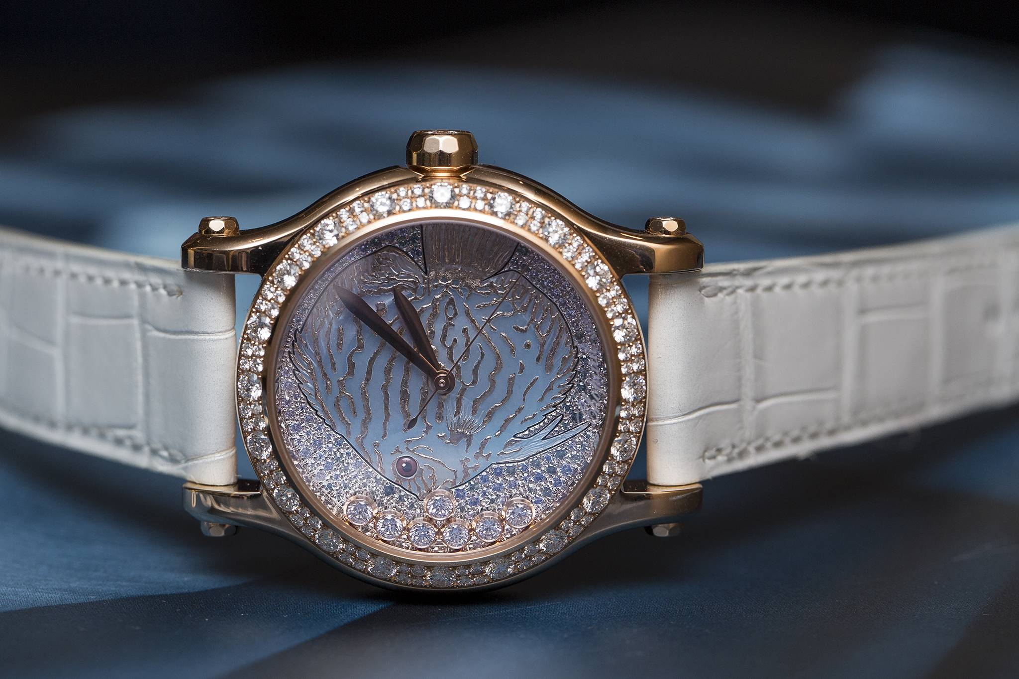 New Chopard Happy Fish Watch 2015 Face