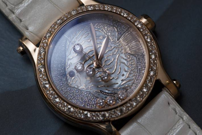 New Chopard Happy Fish Watch 2015 Front