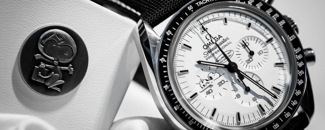 The Omega Speedmaster Apollo 13 Silver Snoopy Award