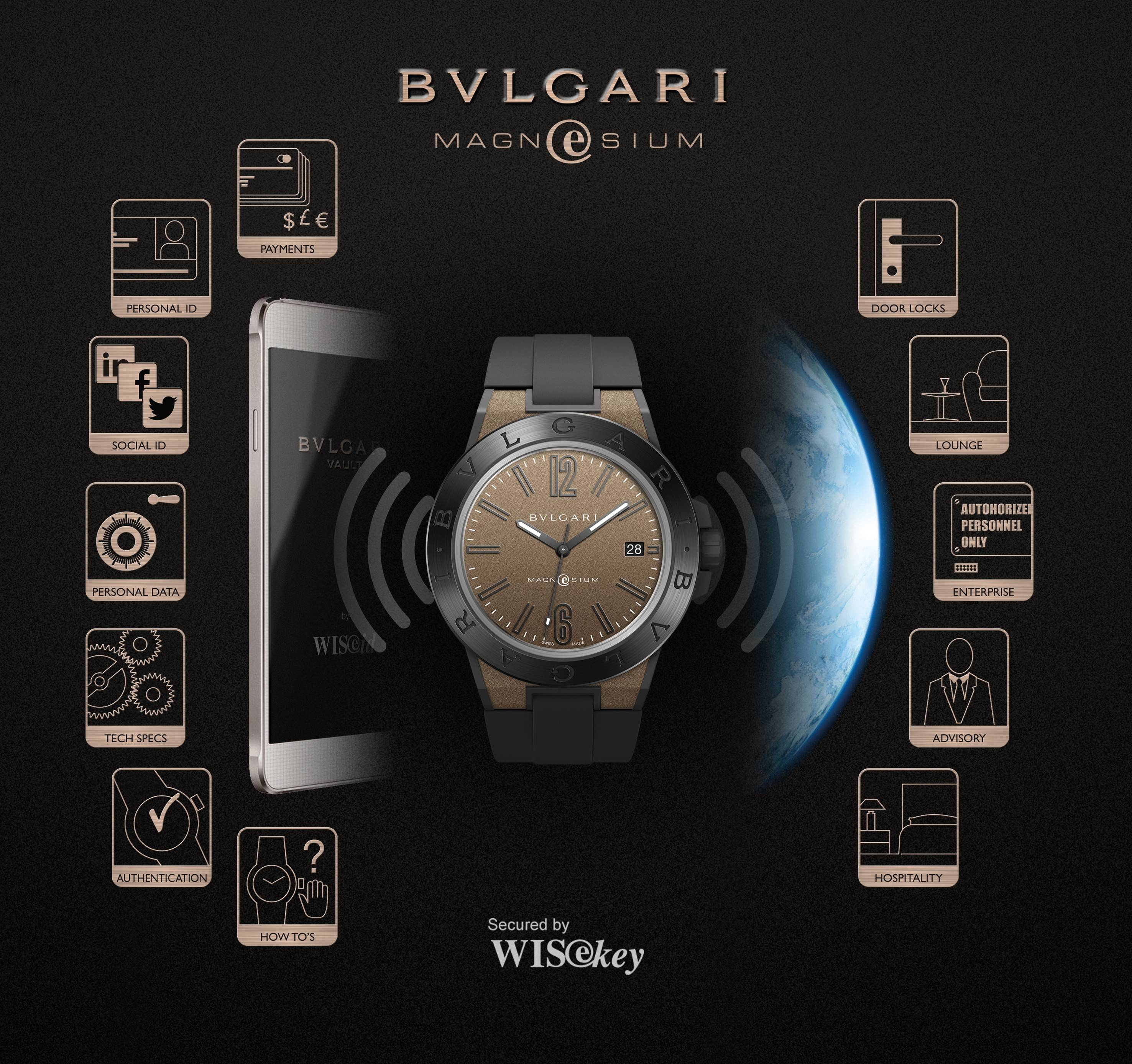 Potential universe of the Bulgari MagnEsium