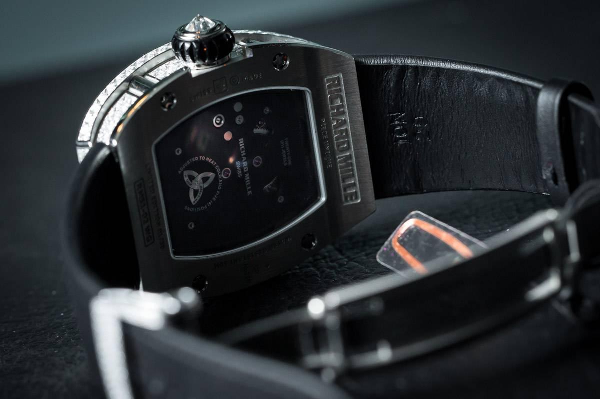 Richard Mille RM 51-02 Tourbillon Diamond Twister Watch 2015 Collection Ladies Back