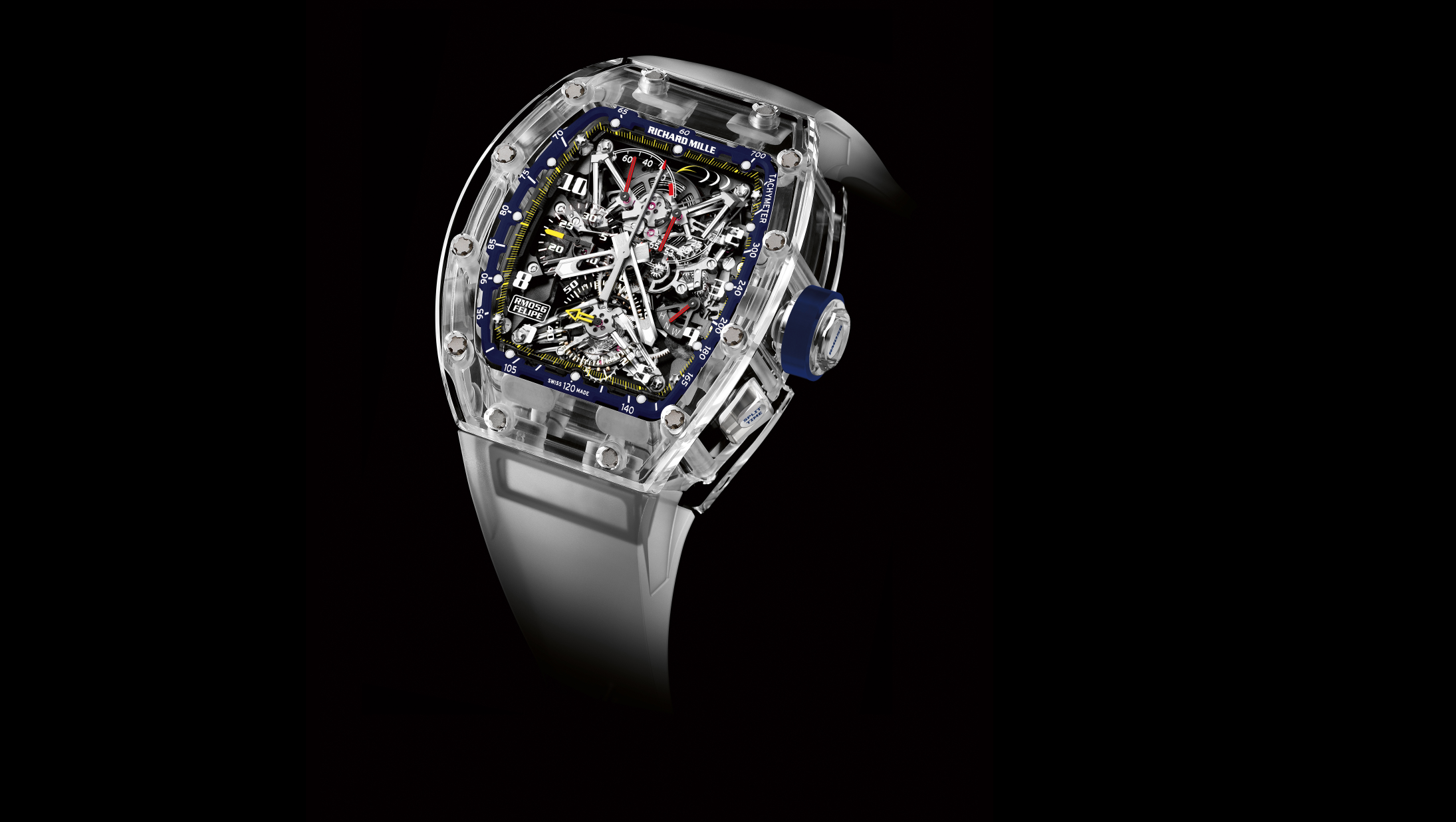 Richard Mille Felipe Massa Limited Edition RM 56 10 Anniversary Watch Front