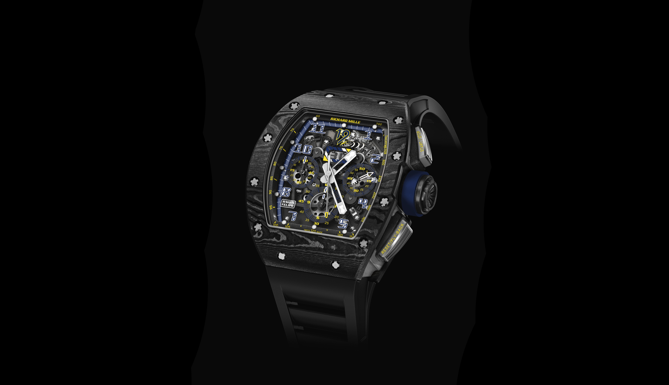 Richard Mille Felipe Massa Limited Edition RM 11 10 Anniversary Watch Front