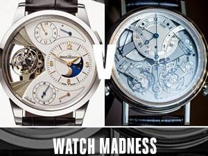 Haute Time Watch Madness Final Round: Vote Now For Your Favorite Watch