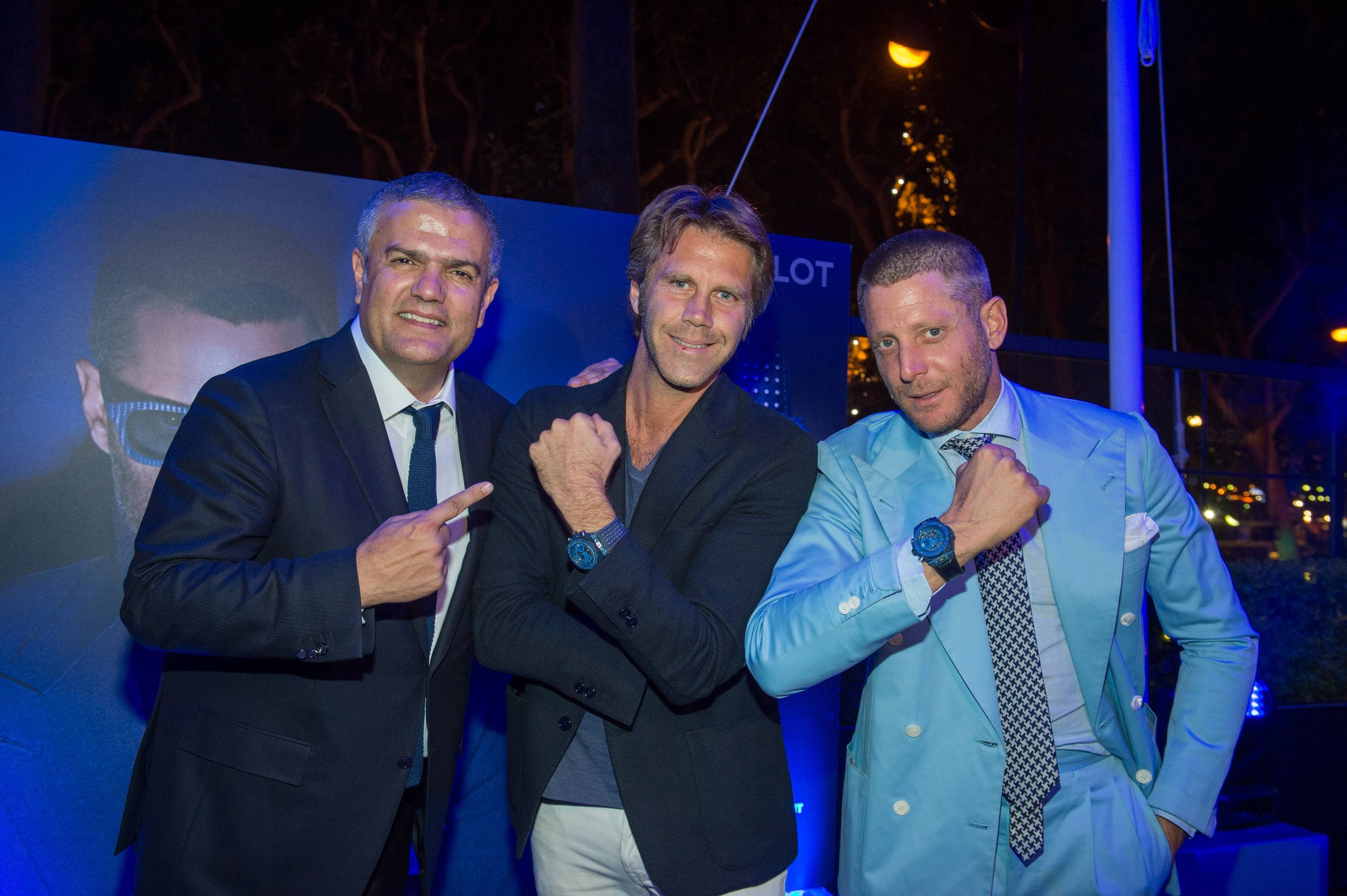 Paris Brings Together Two Style Giants With The Launch Of The Hublot Big Bang Unico Italia Independent