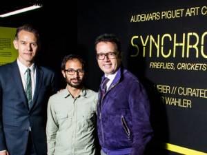 """Haute 100: Audemars Piguet CEO François-Henry Bennahmias Unveils """"Synchronicity"""" Art Installation At Art Basel"""