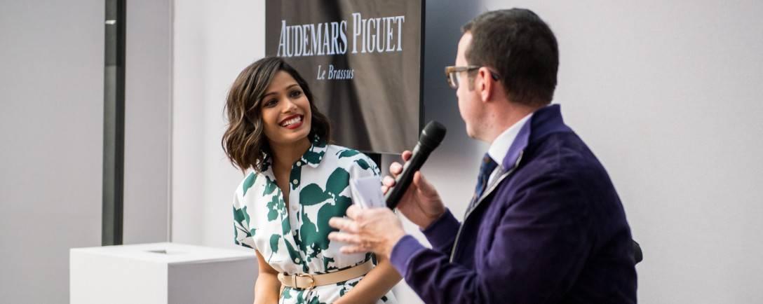 Audemars Piguet CEO Explains Freida Pinto Partnership