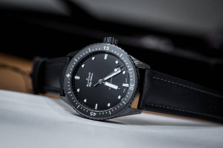 Blancpain Fifty Fathoms Bathyscaphe Watch In Ceramic