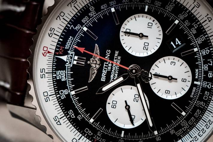 Breitling Navitimer 01 46mm Baselworld 2015 Watch Close Up