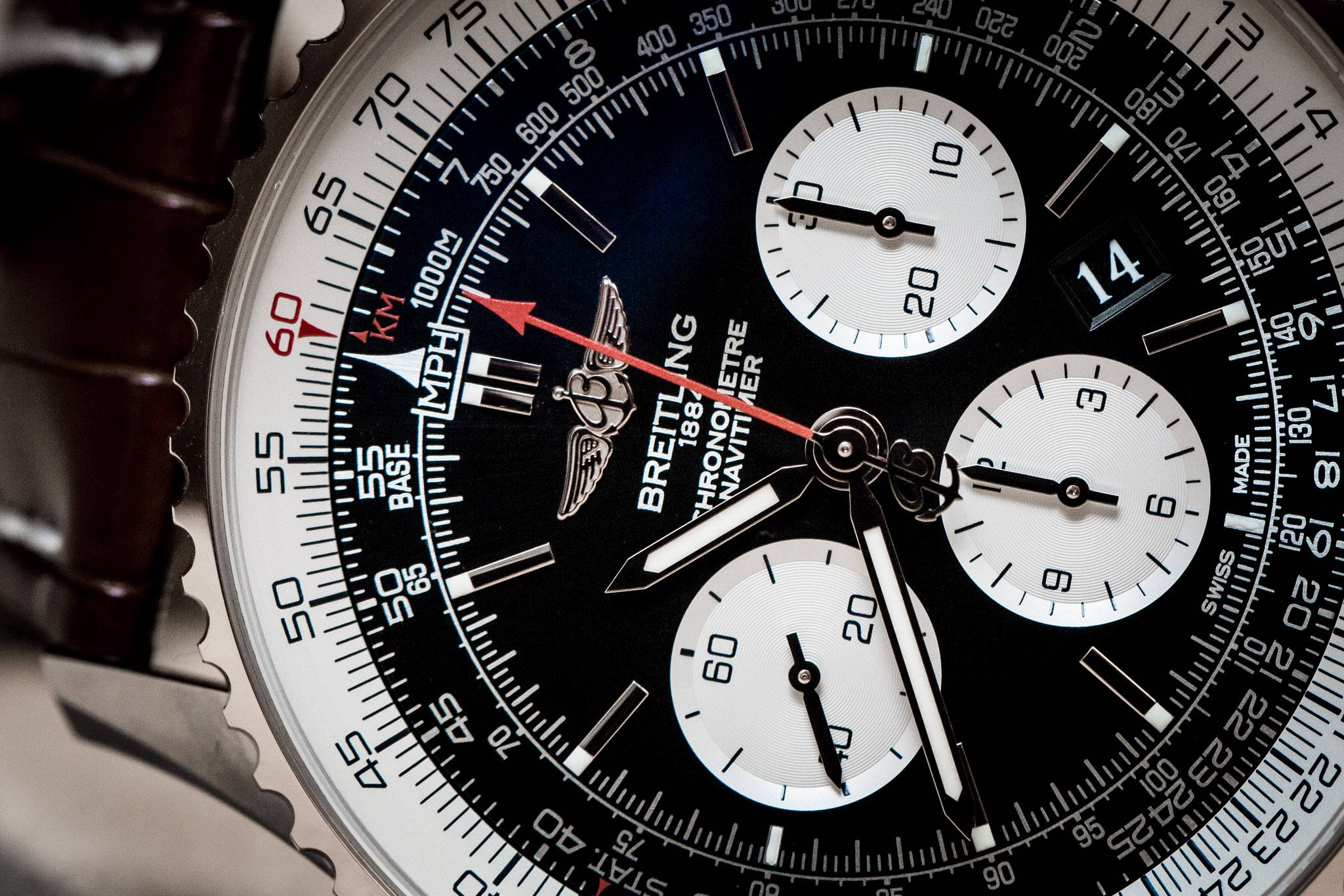 Breitling Replica Navitimer 01 46mm Baselworld 2015 Watch Close Up
