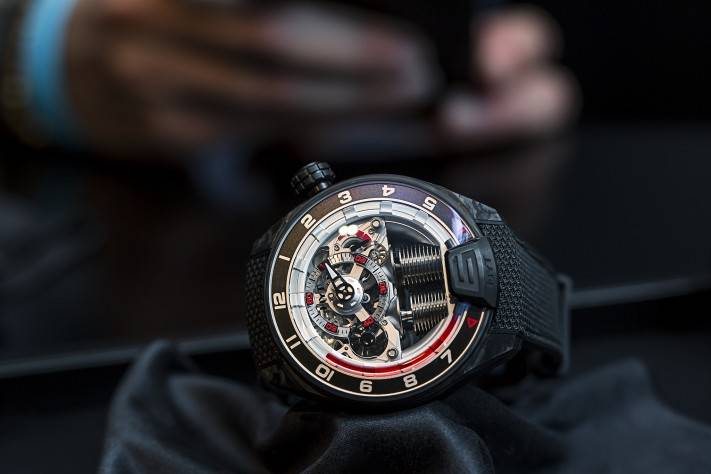 HYT H4 Gotham Baselworld 2015 Watch Review