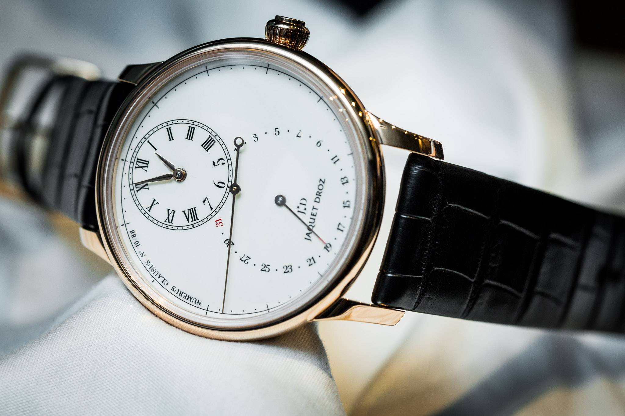 Jaquet Droz Grande Seconde Deadbeat Watch Baselworld 2015