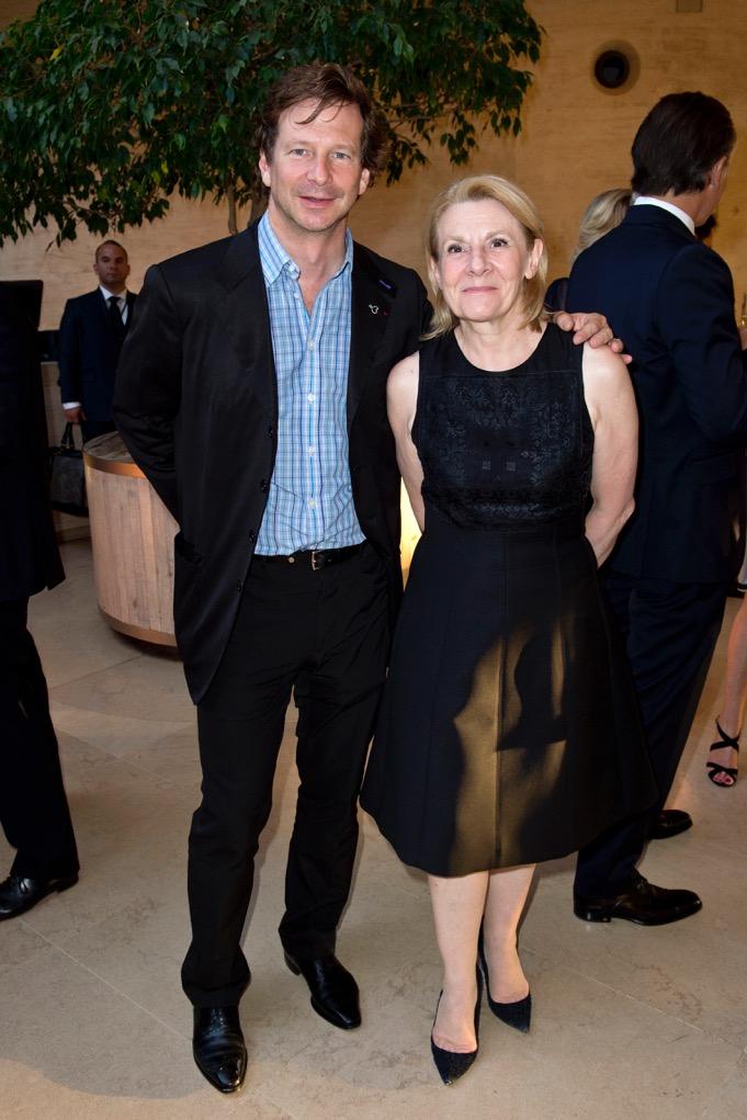 Lorenz Baumer and Catherine Pegard.