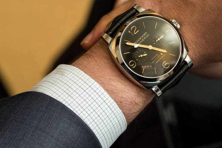 Panerai Equation Of Time Limited Edition Watch SIHH 2015 Wrist