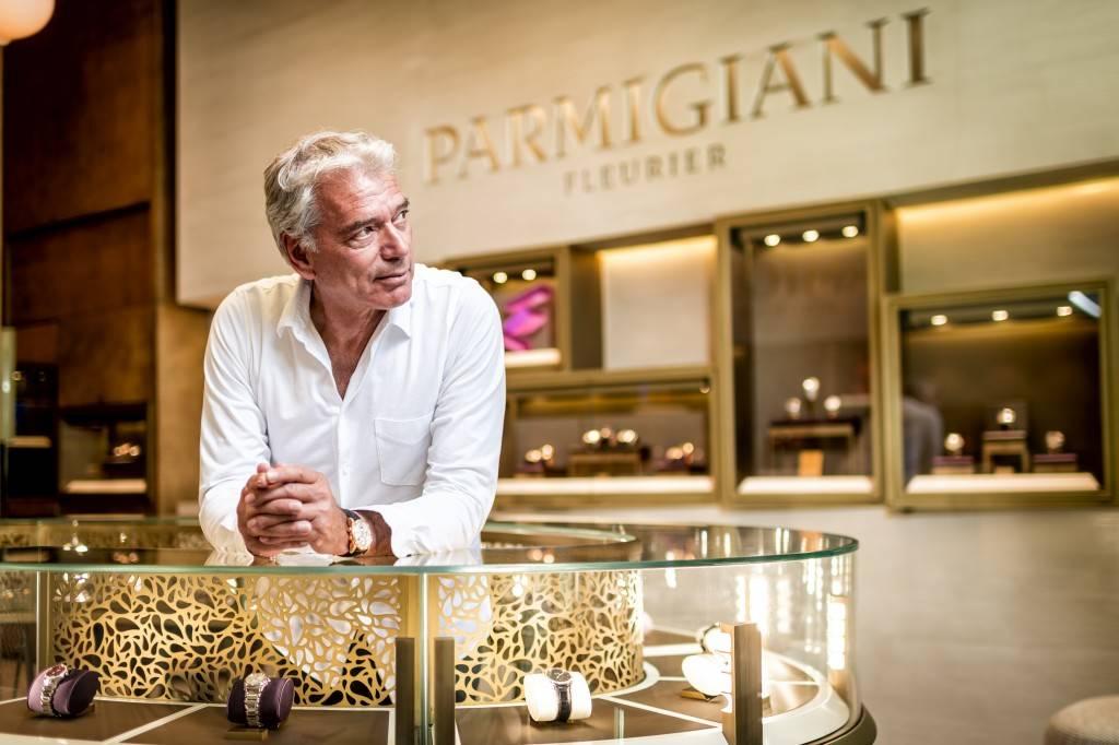 Parmigiani Fleurier CEO Jean-Marc Jacot Miami Haute Time