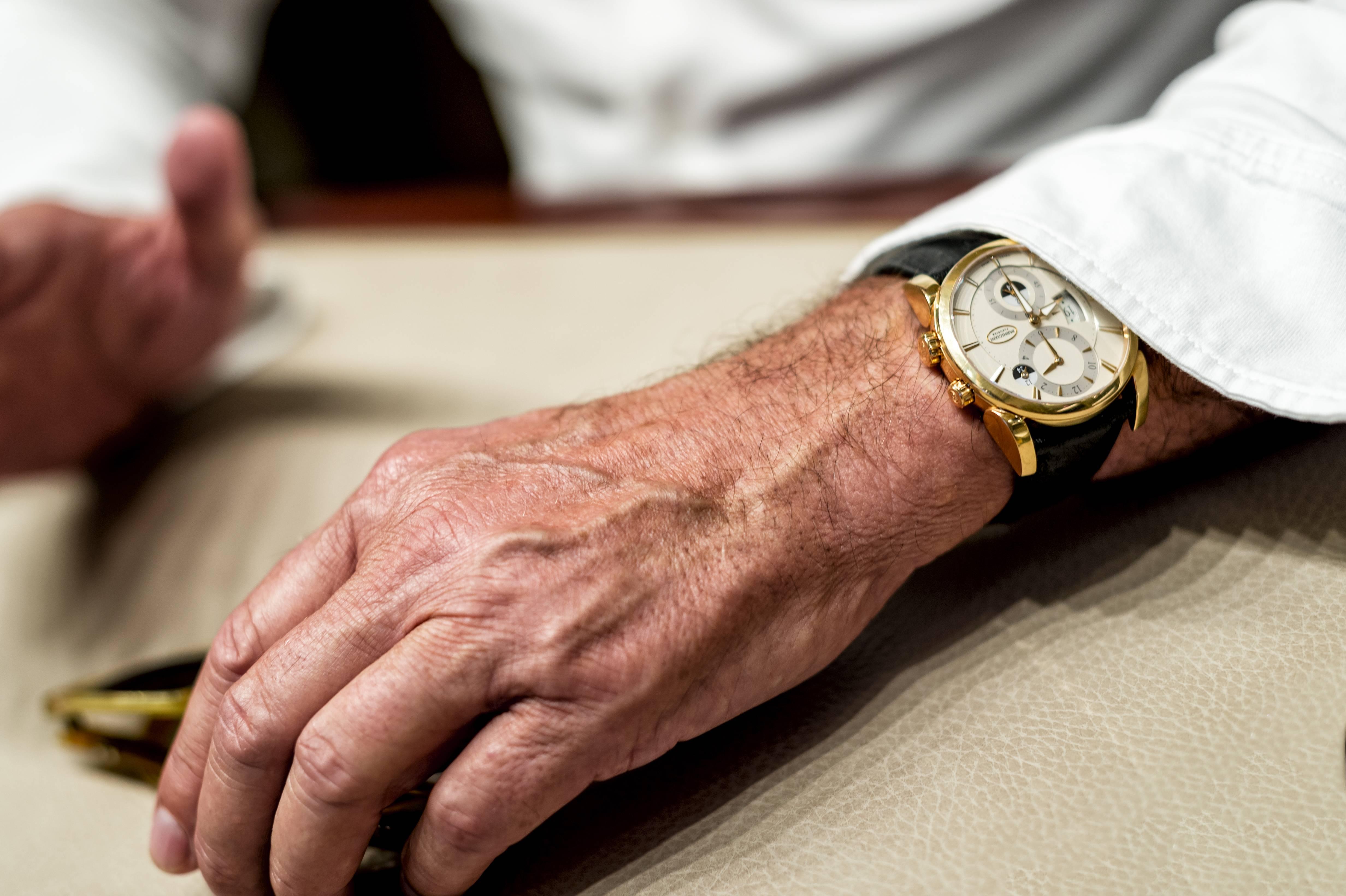 Parmigiani Fleurier CEO Jean-Marc Jacot Parmigiani Tonda Hemispheres