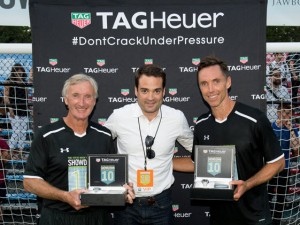 TAG Heuer Participates In The Steve Nash Foundation Showdown In NYC