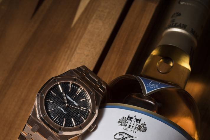 Watches And Whisky Macallan Fine Oak And Audemars Piguet Royal Oak