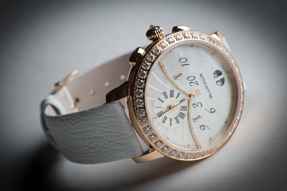 Replica Blancpain Chronograph Grande Date Ladies Watch