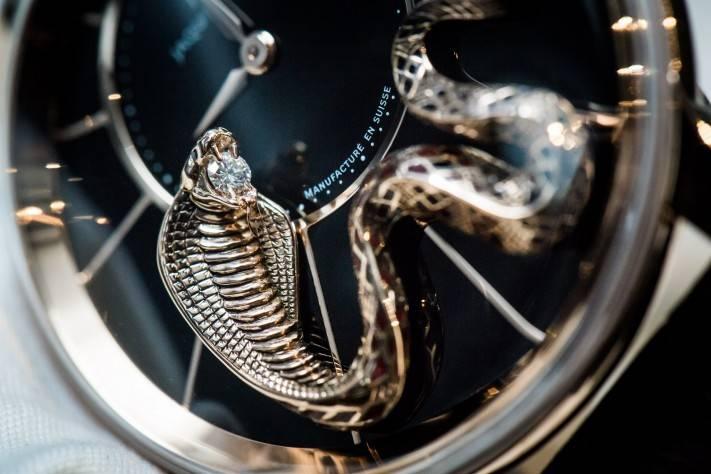 Jaquet Droz Snake Diamond