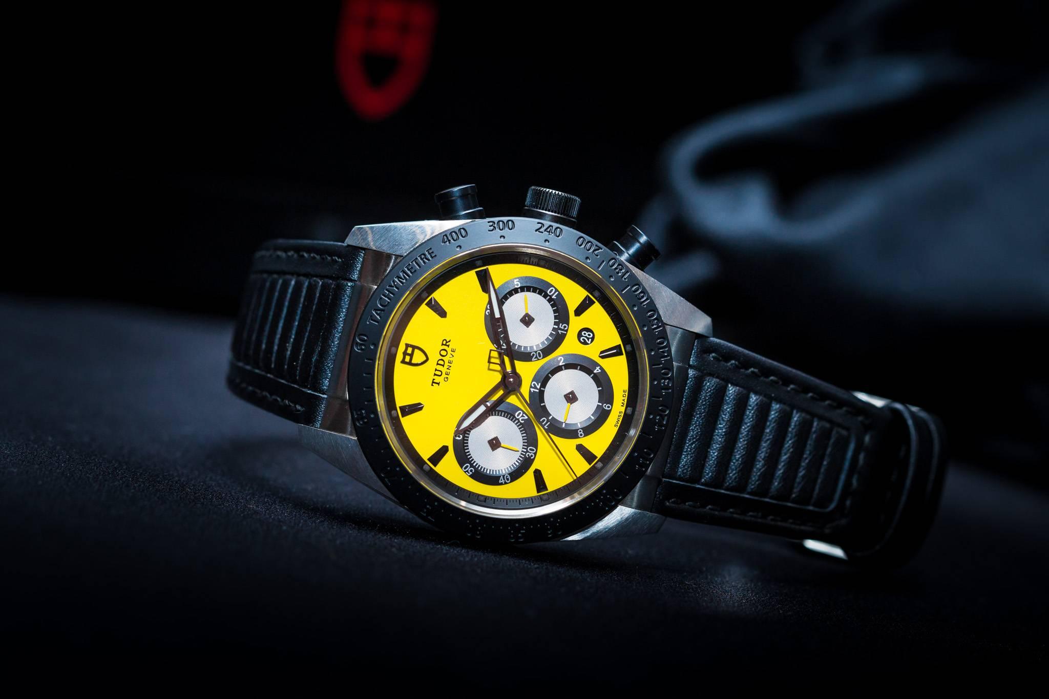 Tudor Fastrider Chronograph 2015 Yellow