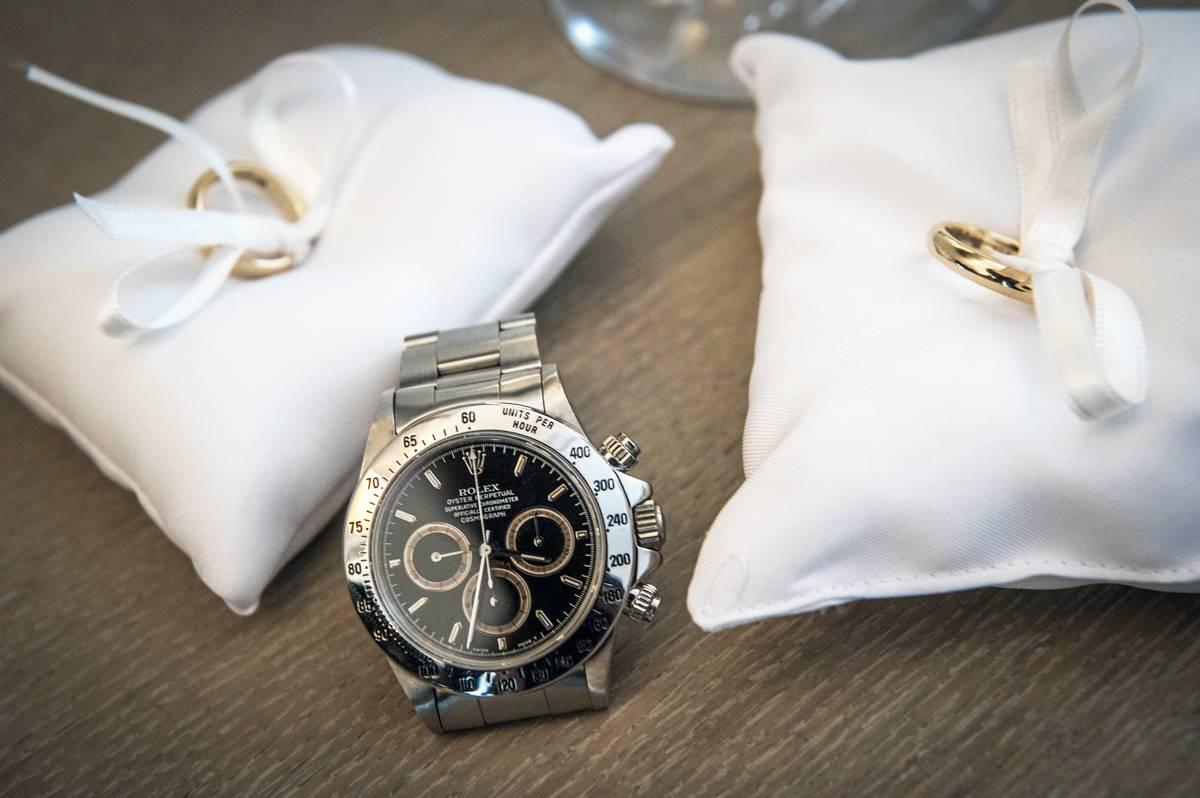 Wedding Watch Rolex Daytona 16520 Mondani