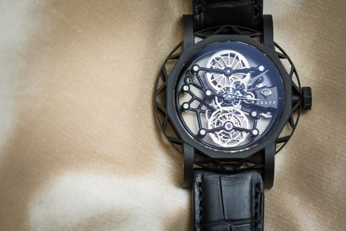 Replica Graff Diamond MasterGraff Structural Tourbillon Skeleton;