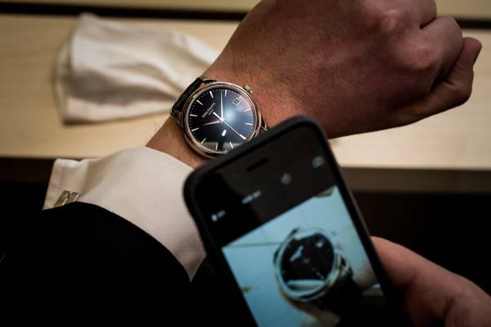 2015 Patek Philippe Calatrava Reference 5227G-010 Wrist