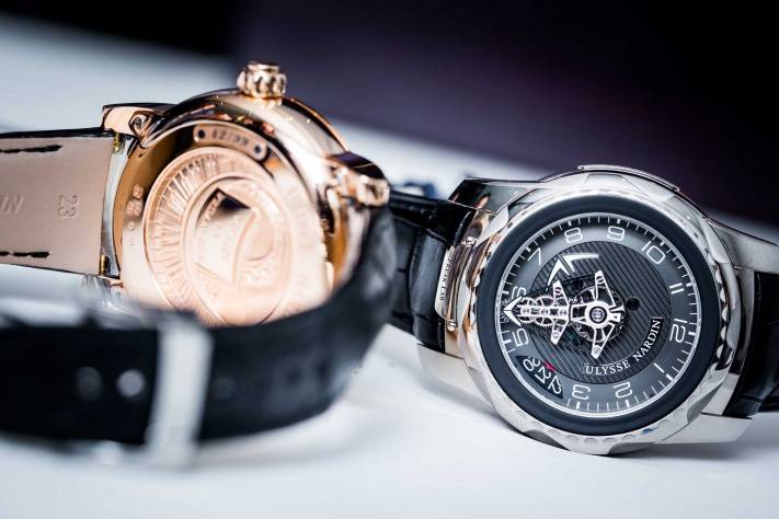 Ulysse Nardin FreakLab Watch Baselworld 2015 Review Close Up Strap