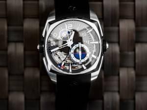 Klepcys Réveil Titanium & DLC Watch