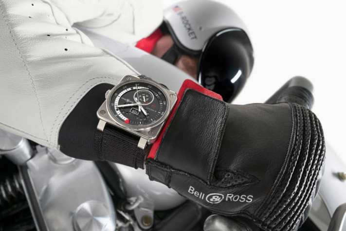Bell & Ross Showcase Their Harley-Davidson B-Rocket Motorcycle With Watches Of Switzerland