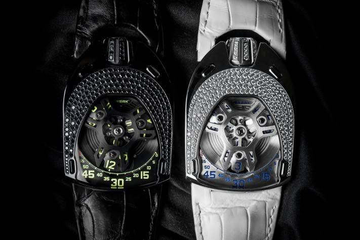 Urwerk UR-106 Lotus Ladies Watch Collection 2015