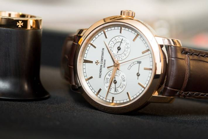 Watches And Wonders 2015 Vacheron Constantin Traditionnelle Day-date And Power Reserve
