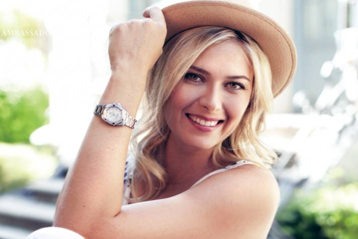 maria sharapova TAG Heuer watches Haute Time