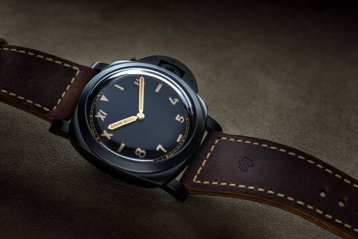 FEATURE Watch Panerai Luminor 1950 3 Days Titanio DLC 47MM Feature