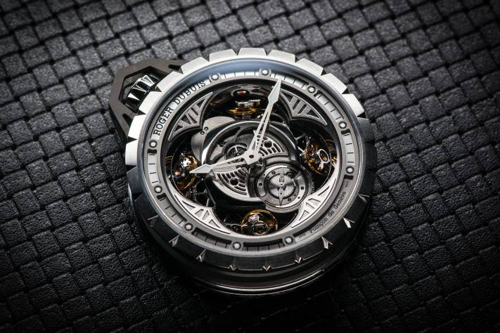 FEATURE_Roger Dubuis Excalibur Spider Pocket Time Instrument Pocket Watch Watches & Wonders 2015