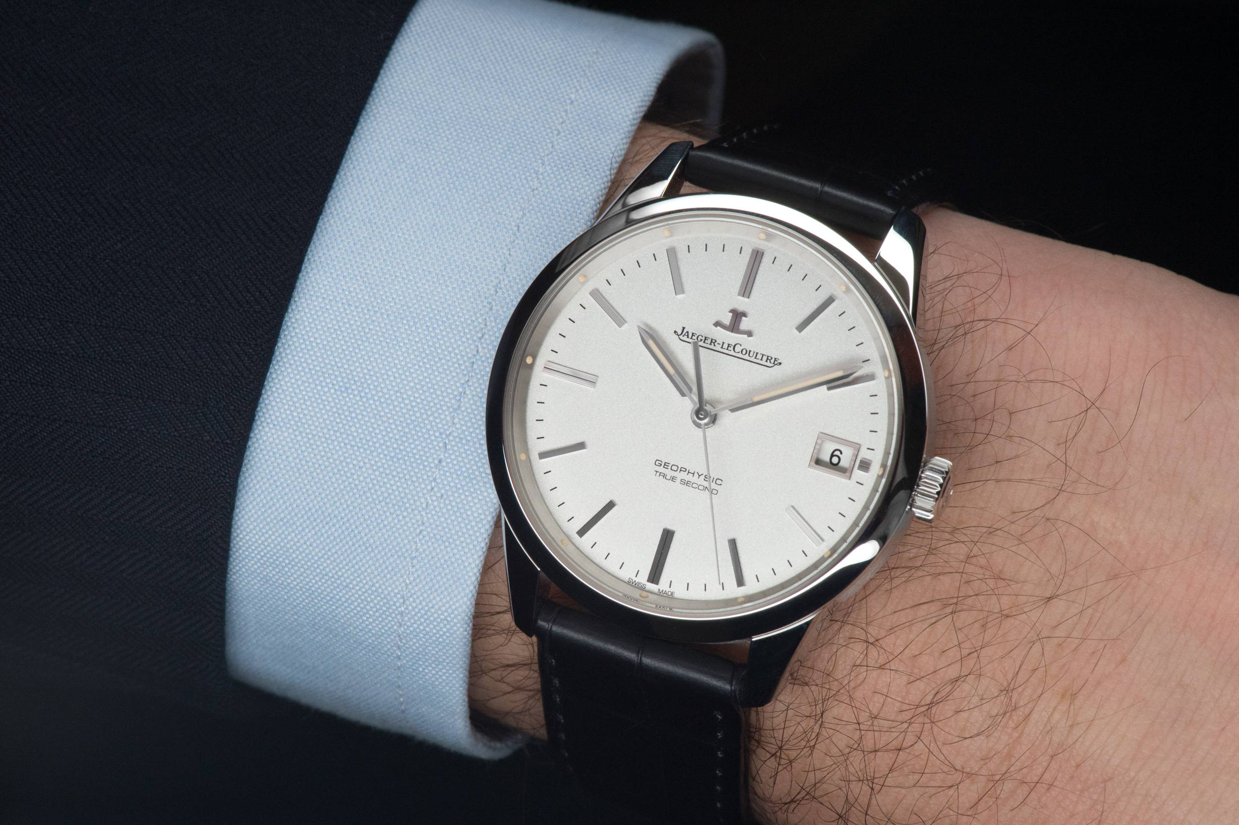 The jaeger lecoultre geophysic true second haute time for Geophysic watches