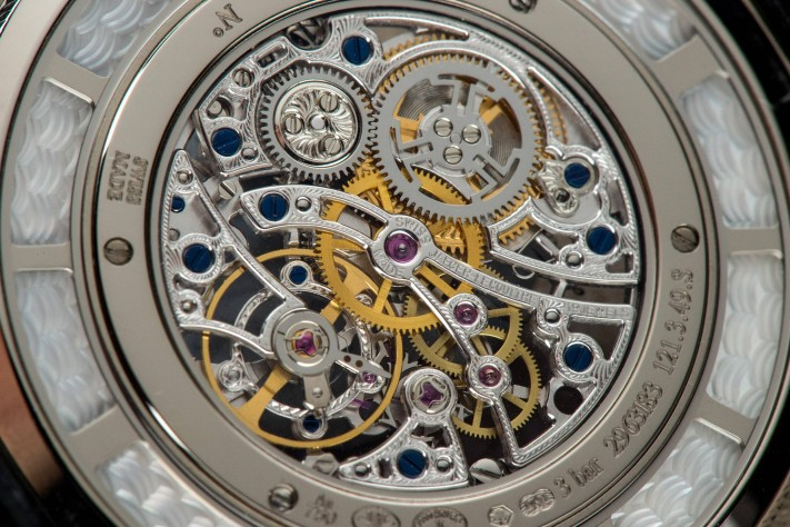 Jaeger-LeCoultre Master Ultra Thin Squelette Watch Back Close Up