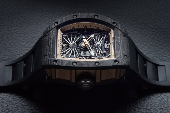 Richard Mille RM022 Aerodyne Dual Time Zone Tourbillon Asia Edition Watch