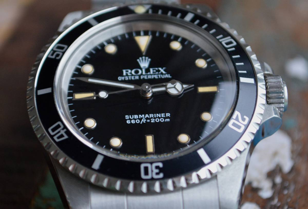 Rolex Submariner Reference 5513 Dial