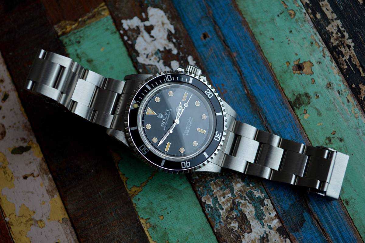 Replica Rolex Submariner Reference 5513 Feature