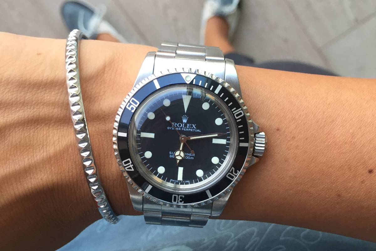 the rolex submariner reference 5513 haute time