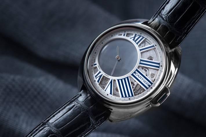 The Clé de Cartier Mysterious Hour Watch